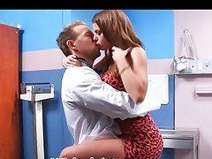 Rich mans tottie Brooklyn Chase fucks the doctor