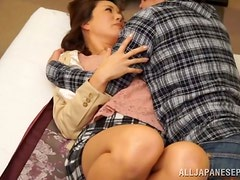 Passionate hardcore sex with a divine Asian mistress