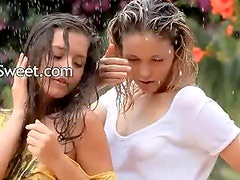 horny girls in the rain