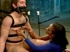 Fucked Up Female Domination and Ball Torture by Face Sitter Skin Diamond