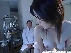 Sexy Asian Clinic Bondage