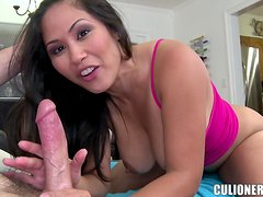 Jessica Bangkok moans loudly while getting her Asian pussy drilled