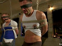 Wild BDSM Stuff in Gay Porn Video with Blowjob And Sex