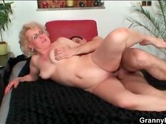 Shaved mature fucked hard in her bedroom