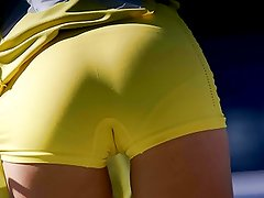 Maria Sharapova - upskirt, boobs, ass and camel toe