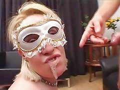 Couples With Masks In Anal, Vaginal And Oral Sex