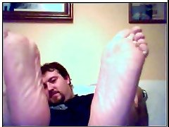chatroulette straight male feet - spanish bear