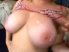 Chubby chick hardcore titjob and sex