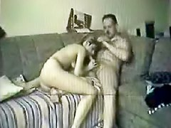 Couple doing it doggy style for fun