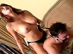 Trampling video in his house