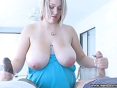 1 white cock and 1 black cock get jerked off by Shyla