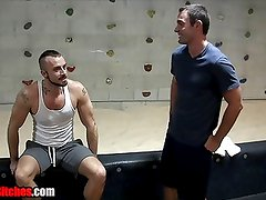 Gym Foot Hook Up FOOT FETISH JESSIE COLTER + CAMERON KINCADE