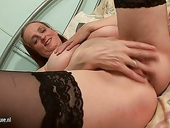 Big mature knockers are made for fun