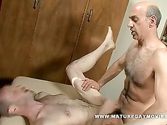 Daddy Gets A Massage And A Fuck