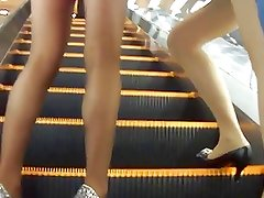 3 Candid Japanese Pantyhose Chicks