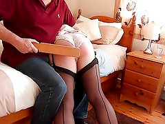 Spanked and Paddled