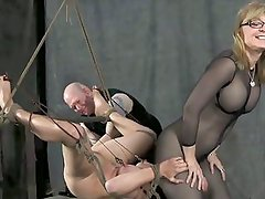 Matures Dom and young slave (2on3) OtO