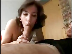 Portuguese gal fucks, sucks and does anal