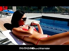 FantasyHD Sexy babysitter pounded by the husband