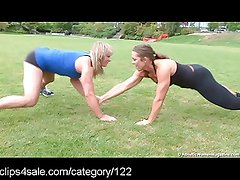 Hot Fitness Action at Clips4sale.com