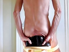 Monster Black Cock Dildos Double Anal Extreme