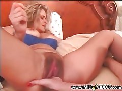 Stretched and hairy MILF cunt fisted hard Mature cunt