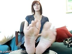 Beautiful Foot Fetish Action at Clips4sale.com