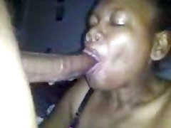 ugly black mature sloppy head 3