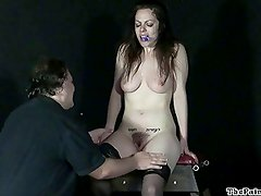 Hell pain whipping and amateur bdsm a tit tortured masochist