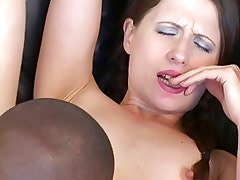 Lovely Lena loves black cock