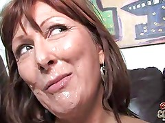 Two young black cocks for hot mother Desi