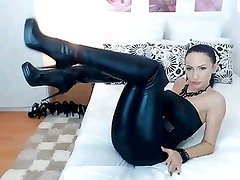 Best Mature in leather