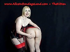 Lesbian FemDom Spanking THE BEST ASS IN PORTLAND Mistress