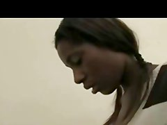 Danish Ashley - Ebony teen pounded
