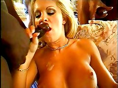 Another blonde slut getting ass fucked