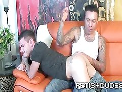 Max Sanchez And Tristan Mathews - Old And Young Gay Spanking