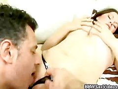 Chunky Honey Gets Her Oral Fix