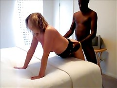 Wife dating a black cock