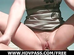 Trailer Girl gets Pussy Trashed.