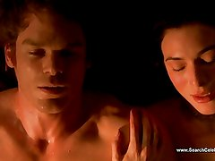 Jaime Murray Nude Compilation - Dexter - HD