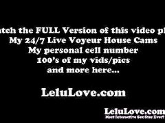 Lelu Love-Masturbation Instruction Tease Denial