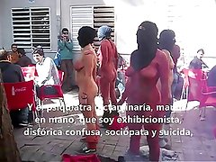 Naked protest 1