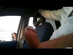 masturbation car flashing 1