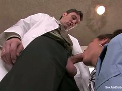 Charley Chase Getting Dominated and Fucked by a Naughty Doctor
