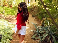 Charming and desirable angel Bryiana Noelle is loving it