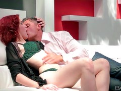 Amarna Miller gets her pussy fingered and fucked by Sabby