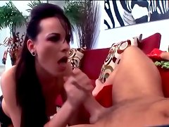 Brunette anal in fencenet nlyons and sexy boots