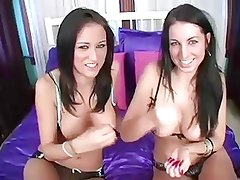 2 hot brunettes want to watch. JOI