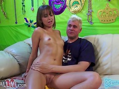 Blowjob And Jerking Makes That Long Curved Dick Hard