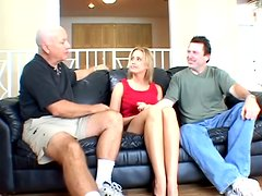 Gifted Dude Pounded Hard Some Blondes Tight Shaved Pussy